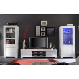 Meuble TV Laqu Blanc Amalfi