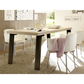 Table pieds mtal  PALMA