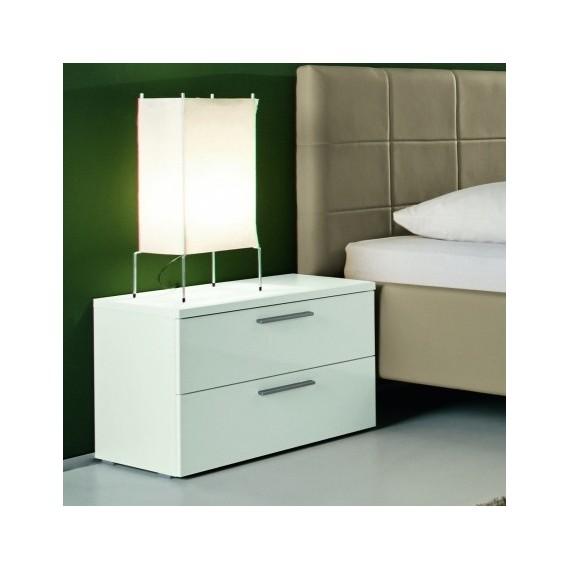 Table de chevet  tiroirs  Linea Color