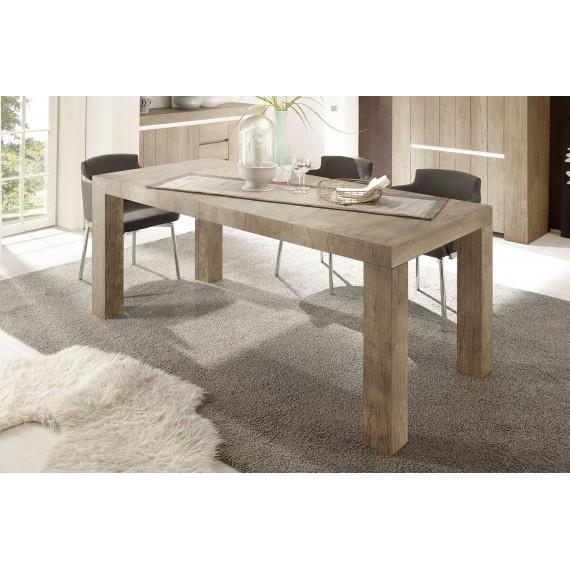 Table PALMIRA chêne clair