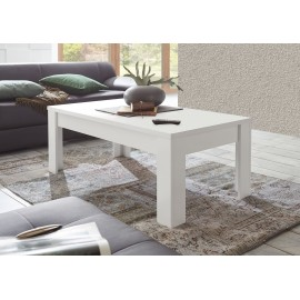 Table basse laqué blanc mat SKY