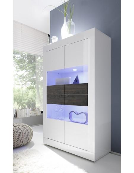 Argentier  portes blanc  Basic