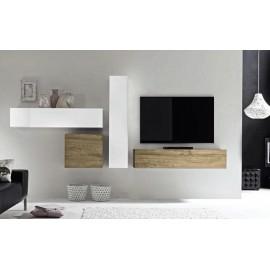 Composition TV  meubles de rangement  Cube