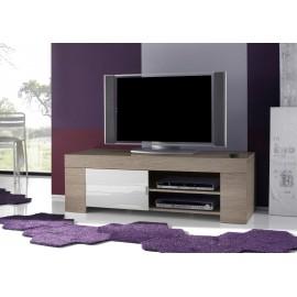 Meuble TV coloris contemporain Eole